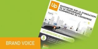 Groupe Up et Harris Interactive : Baromètre sur la stimulation de la performance commerciale