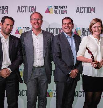 L'agence b-flower avec son client Atlantic et notre partenaire Smartbox