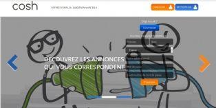 Cosh, site de recrutement affinitaire pour les fonctions commerciales