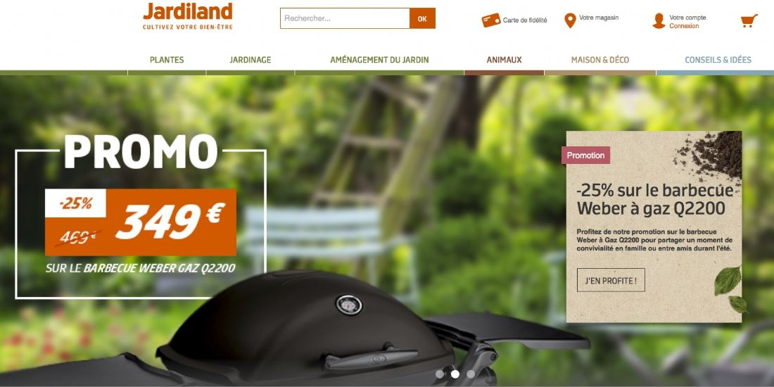 Jardiland cultive sa stratégie de vente en ligne