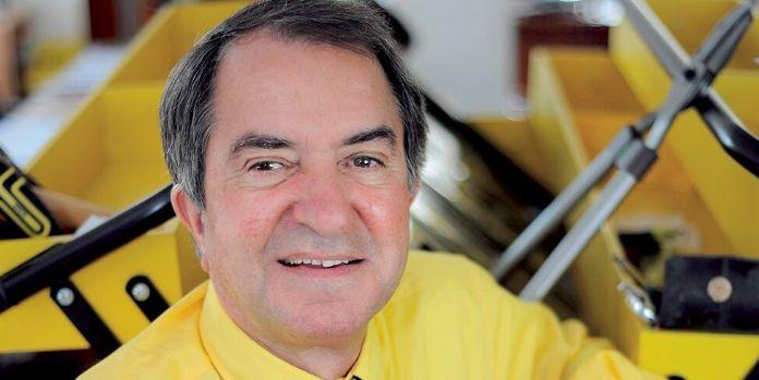 Jean-Claude Bourrelier, Président-fondateur de Bricorama