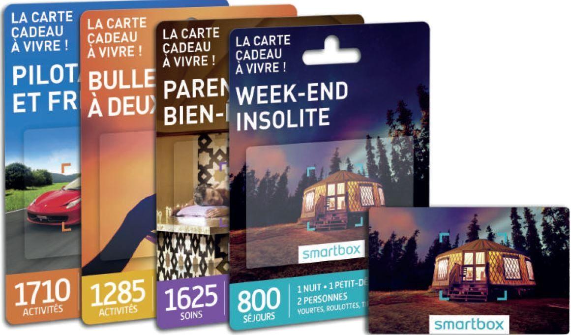 Carte Wedoogift But.Smartbox Se Lance Dans L Univers Des Cartes Cadeaux