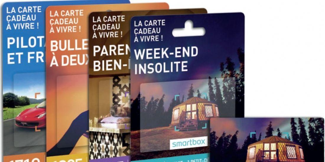 Smartbox se lance dans l'univers des cartes cadeaux
