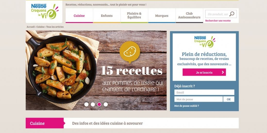 Comment Nestlé performe grâce à l'influence 'peer-to-peer'