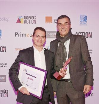 [Trophées Action Co 2017] Grass Roots remporte l'or en certifiant les vendeurs Audi