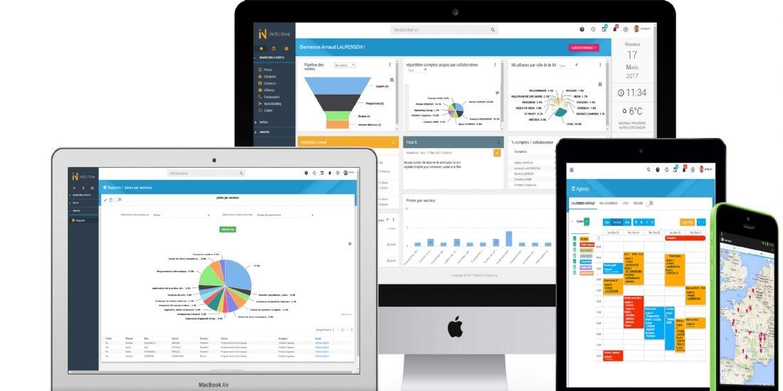 Initative CRM, le nouveau CRM plus intuitif d'ABOnline