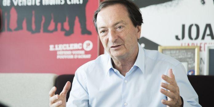 Michel-Edouard Leclerc prend la présidence de NEOMA Business School