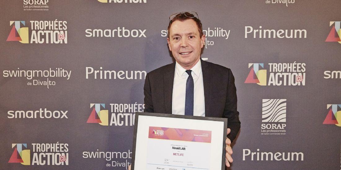 Rénald Lair (MetLife) élu manager commercial de bronze 2018