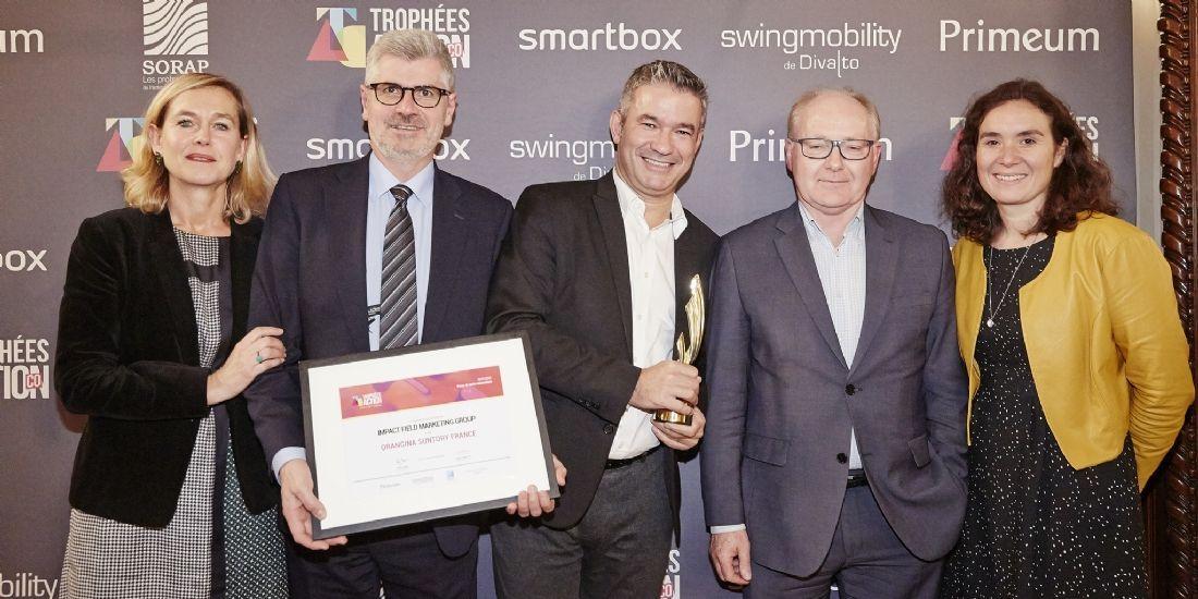 [Trophées ActionCo 2018] Impact Field Marketing Group médaillé or pour Orangina Suntory France