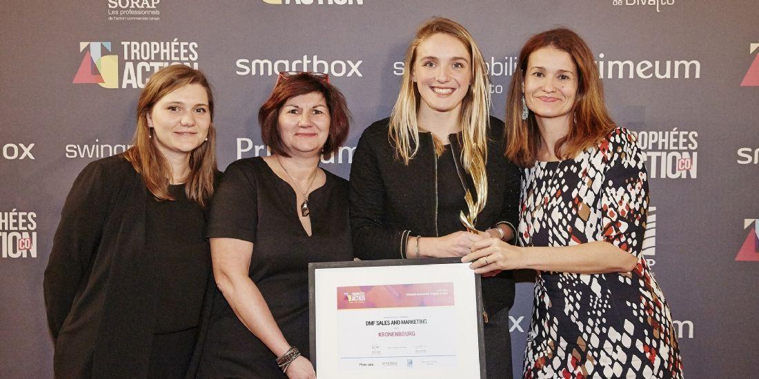 [Trophées ActionCo 2018] DMF Sales & Marketing sur la première marche du podium avec Kronenbourg