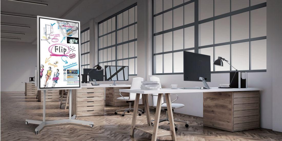 Samsung Flip, le premier paperboard digital et interactif