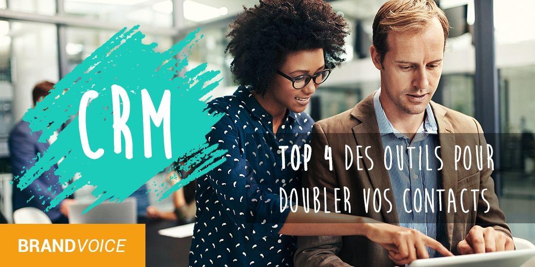 CRM : Top 4 des outils pour doubler vos contacts