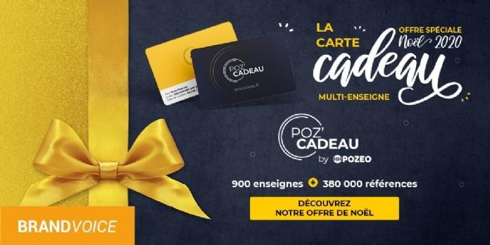 POZ'CADEAU: LE CHEQUE CADEAU NOUVELLE GENERATION