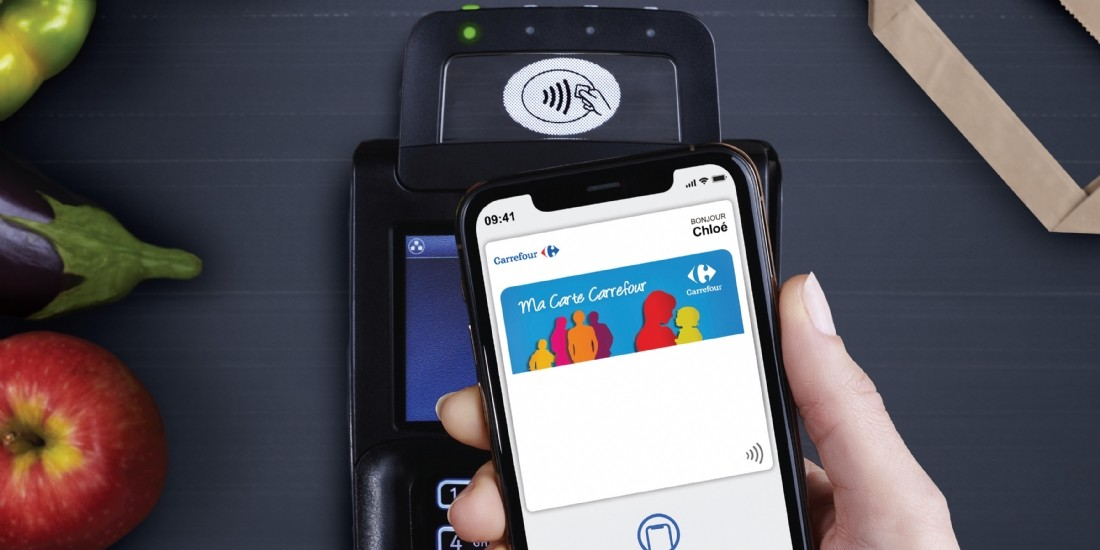 Carrefour intègre sa carte de fidélité à Apple Wallet