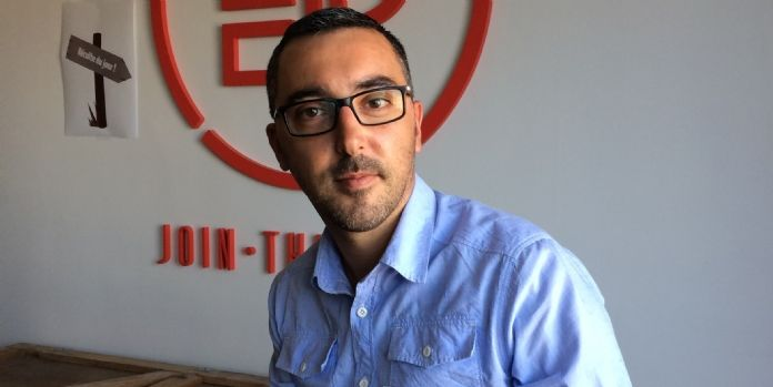 Nicolas Quinchard, directeur commercial d'EP