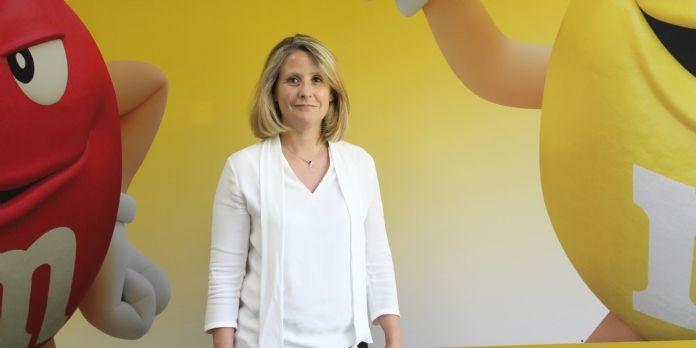 Cecilia Cassou, directrice commerciale de Mars Chocolat France