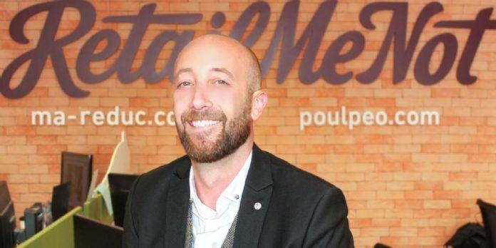 Pierre-Yves Moutte, directeur commercial et partenariats de RetailMeNot
