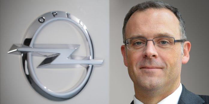 Xavier Duchemin, directeur des ventes Europe d'Opel et Vauxhall au sein du Groupe PSA