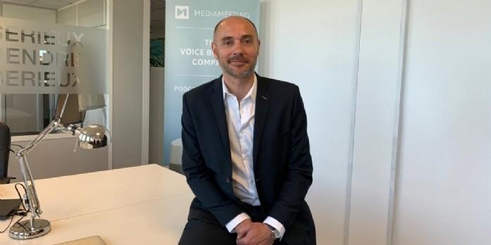 Charles Guéry a été nommé directeur développement de Mediameeting